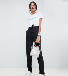 Брюки галифе с поясом оби ASOS DESIGN Tall-Черный