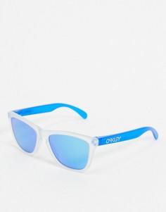 Солнцезащитные очки в стиле ретро Oakley-Синий