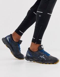 Черные кроссовки Asics - Running gel nimbus 21 winterized pack-Черный