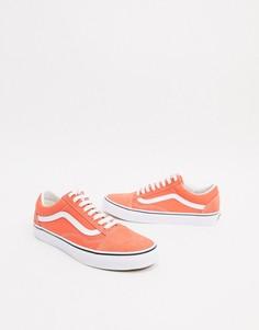 Кроссовки Vans Authentic-Оранжевый