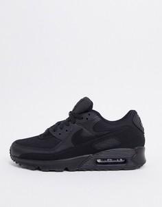 Черные кроссовки Nike Air Max 90 Recraft-Черный