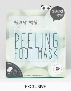 Гелевая маска-пилинг для стоп Oh K!-Бесцветный