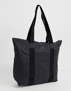 Черная сумка-тоут Rains-Черный цвет