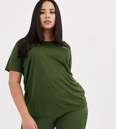 Футболка ASOS 4505 Curve-Зеленый