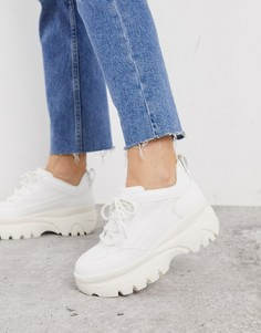 Белые кроссовки New Look-Белый
