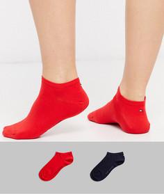 Набор из 2 пар спортивных носков с логотипом (красные / синие) Tommy Hilfiger-Мульти