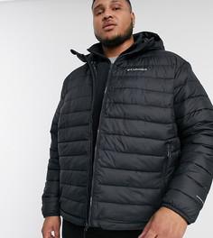 Черная куртка с капюшоном Columbia Plus Powder Lite-Черный