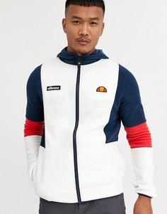 Светлая флисовая куртка ellesse Sotto-Белый
