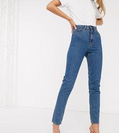 Синие джинсы в винтажном стиле с завышенной талией Vero Moda Tall-Синий