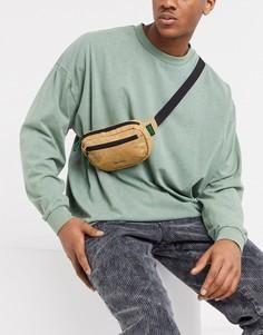 Светло-коричневая сумка-кошелек на пояс Mi-Pac-Светло-коричневый