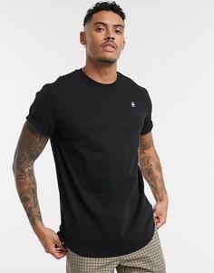 Черная футболка G-Star-Черный