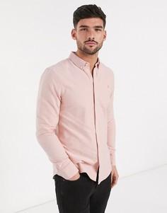 Зауженная рубашка с длинными рукавами Farah-Оранжевый