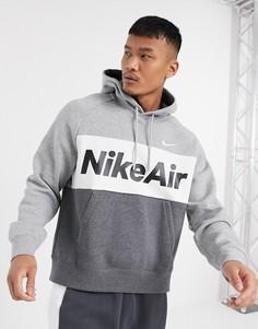 Худи серого цвета Nike Air-Серый