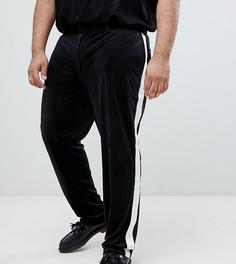 Черные брюки скинни под смокинг ASOS DESIGN Plus-Черный