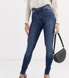 Синие джинсы скинни Vero Moda Tall-Синий