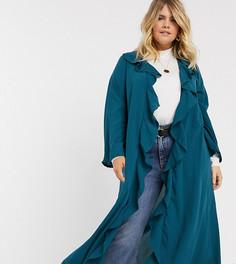 Длинная легкая куртка Verona Curve-Зеленый