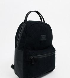 Черный рюкзак из искусственной цигейки Herschel Supply