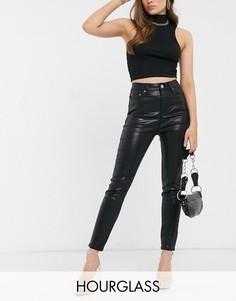Черные моделирующие джинсы скинни ASOS DESIGN Hourglass-Черный