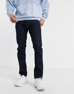 Темные джинсы классического кроя Replay-Синий