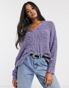 Пуловер Free People-Фиолетовый
