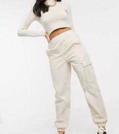 Кремовые брюки в стиле милитари с завышенной талией Puma эксклюзивно для ASOS-Кремовый