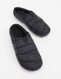 Черные слиперы Toms-Черный