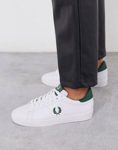 Кожаные кроссовки Fred Perry Spencer-Белый