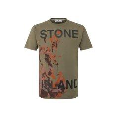 Футболки Stone Island Хлопковая футболка Stone Island