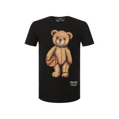 Хлопковая футболка Dom Rebel