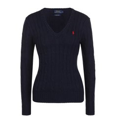 Трикотаж Polo Ralph Lauren Хлопковый пуловер Polo Ralph Lauren