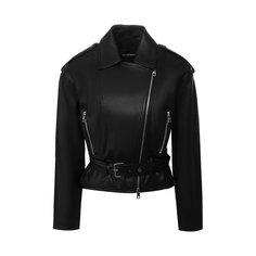 Куртки Emporio Armani Кожаная куртка Emporio Armani