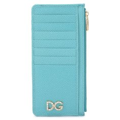 Футляры для пластиковых карт Dolce & Gabbana Кожаный футляр для кредитных карт Dolce & Gabbana