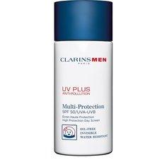 Уход для лица Clarins Защитный флюид-экран для мужчин UV Plus Anti-Pollution SPF 50 Clarins