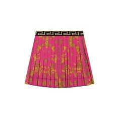 Юбки Versace Плиссированная юбка Versace