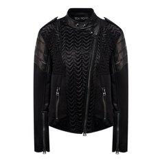 Куртки Tom Ford Куртка с косой молнией Tom Ford
