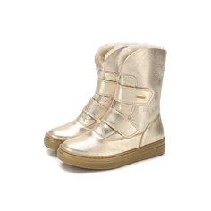 Кожаные ботинки с меховой отделкой Missouri