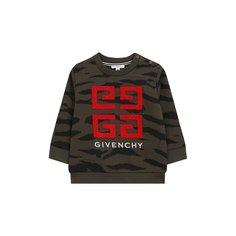 Хлопковый свитшот Givenchy