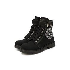 Текстильные ботинки Balmain
