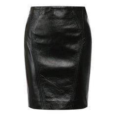 Юбки Givenchy Кожаная юбка Givenchy