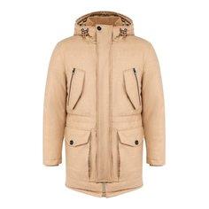 Куртки BOSS Пуховик из смеси шерсти и кашемира BOSS