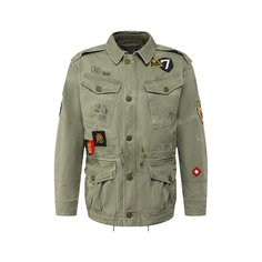 Куртки Polo Ralph Lauren Хлопковая куртка Polo Ralph Lauren