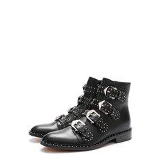 Кожаные ботинки Elegant Studs с заклепками Givenchy
