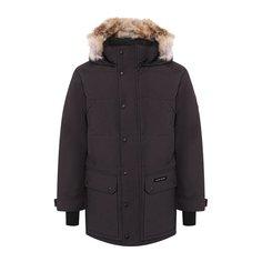 Куртки Canada Goose Пуховик Emory с меховой отделкой Canada Goose