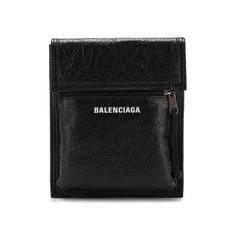 Сумки-мессенджеры Balenciaga Кожаная сумка Explorer с логотипом бренда Balenciaga