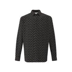 Шелковая рубашка Saint Laurent