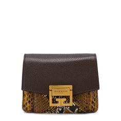 Сумки через плечо Givenchy Сумка GV3 из кожи питона Givenchy