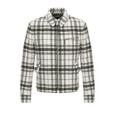 Куртки Ralph Lauren Шерстяная куртка на молнии с отложным воротником Ralph Lauren