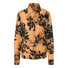 Блузы Dries Van Noten Блузка с принтом Dries Van Noten