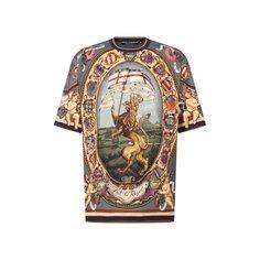Хлопковая футболка Dolce & Gabbana