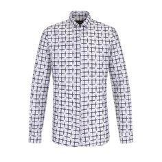 Рубашки Giorgio Armani Рубашка на молнии из смеси хлопка и шелка Giorgio Armani